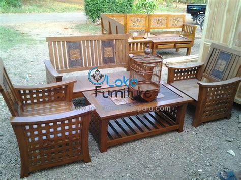 Kursi Tamu Jati 3 Juta jual kursi tamu jati minimalis jokowi harga murah jepara oleh cv loka furniture