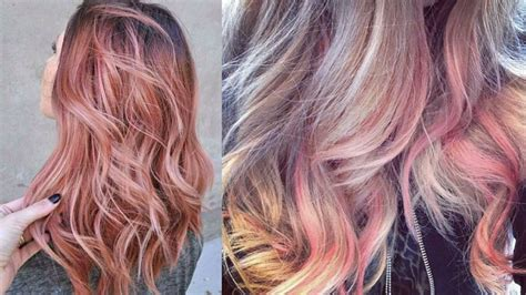 rose gold hair dye dark hair match your mane to your iphone with this rose gold hair trend