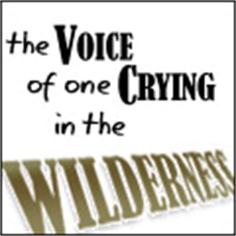 a voice in the wilderness the ministry of the baptist books t articles sorted by title