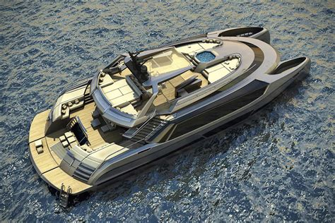 catamaran superyacht ego catamaran superyacht hiconsumption