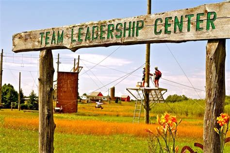 Door County Center by Safest Zip Line Tour Location Team Leadership Center In