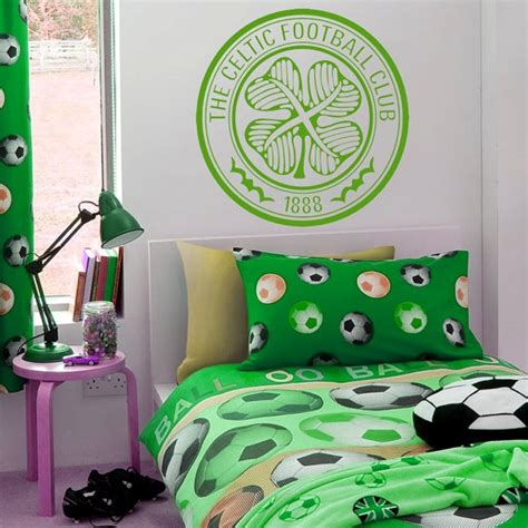 celtic bedroom ideas 17 best images about football wall stickers decals