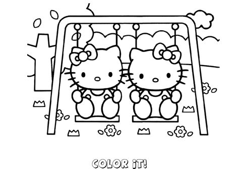 free online coloring pages that you can print hello kitty coloring pages you can color online kids