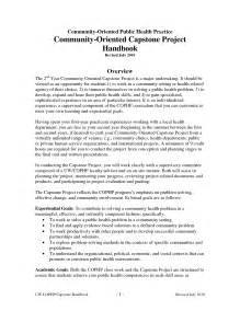 capstone outline template best photos of capstone project exles