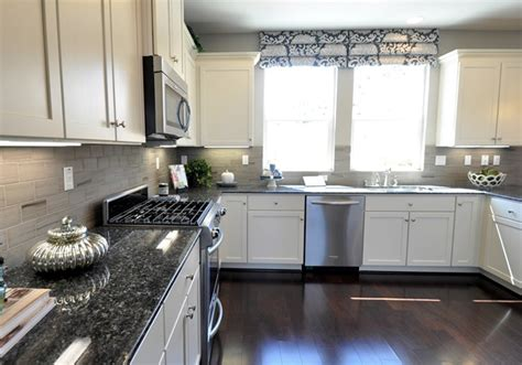 White And Grey Countertops by I Did It Again Centsational