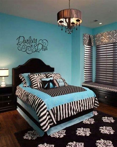 teenage girl bedroom curtains turquoise black bedroom bedrooms pinterest black bedrooms and zebras