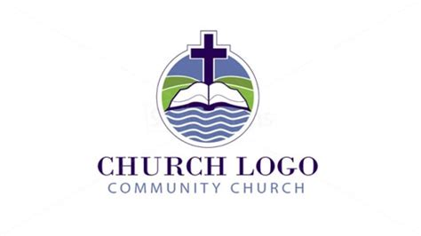 present your new ideas using church logo designs
