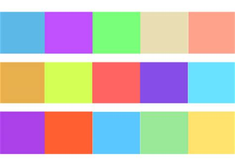 interesting color combinations 28 interesting and useful color scheme exercises digital approaches to everything ever 14