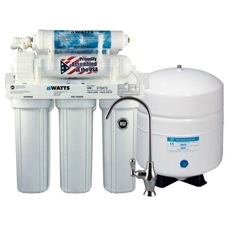 Osmosis System watts w 525 5 stage osmosis system 50 gpd commerciareverseosmosis
