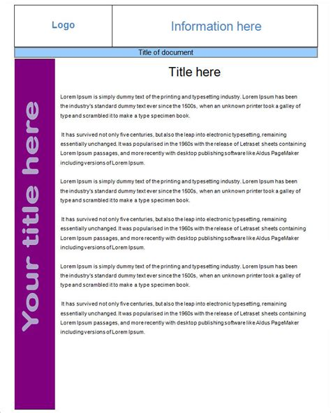 Fact Sheet Template Free Pdf Word Documents Download Free Fact Sheet Template