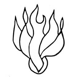 PENTECOST FLAMES Colouring Pages sketch template
