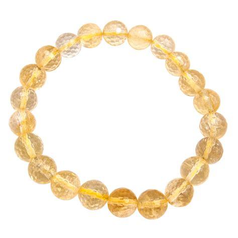 citrine bead bracelet citrine faceted bead bracelets wholesale gemstone