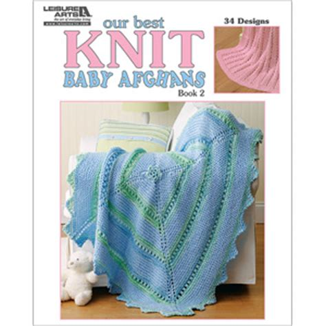 best knitting books our best knit baby afghans knitting book la 5124