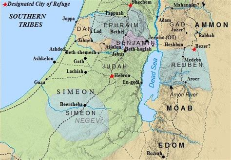 ancient middle east map judah this map of ancient israel depicts the southern allotments