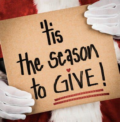 ideas for quot giving back quot this christmas one good thing