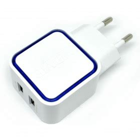 Vidvie 2 Usb Port Micro Charger Usb Cable Included Micro Plm301 vidvie dual usb charger 2 1a with micro usb cable vv 021 white jakartanotebook