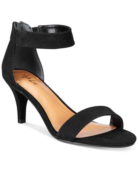 Dress Shoe Macy S by Lyst Style Co Paycee Two Dress Sandals In Black