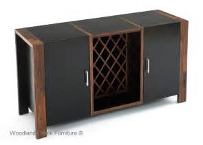 Wine Rack Sideboard Modern Rustic Wine Cabinet Reclaimed Wood Contemporary