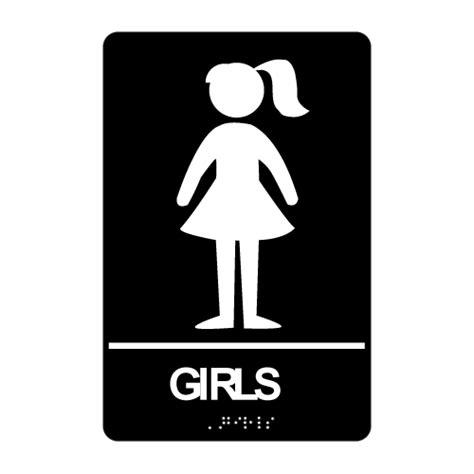 bathroom girl sign girl bathroom sign clipart best