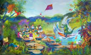 Childrens Wall Mural childrens murals