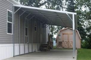 Building A Metal Carport Lean To Carports All Steel Northwest