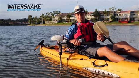 kayak motor boat watersnake universal electric motor mount for kayaks and
