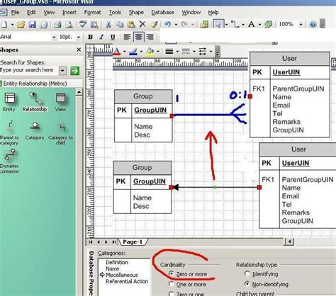 erd with visio erd diagram tool visio gallery how to guide and refrence