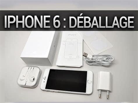 iphone 6 d 233 ballage contenu de la boite par test mobile fr