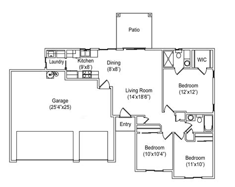 floor plan car 1108 seville floor plan seville builders inc seville