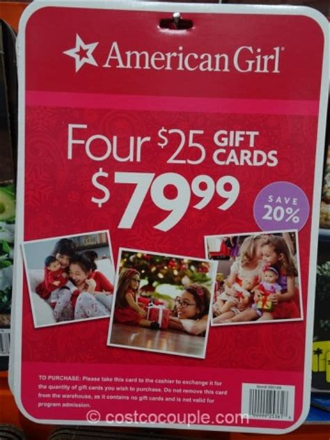 American Girl Gift Card Discount - american girl gift card