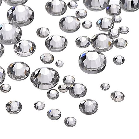 Rhinestone Clear outus 1000 pieces clear flat back rhinestones