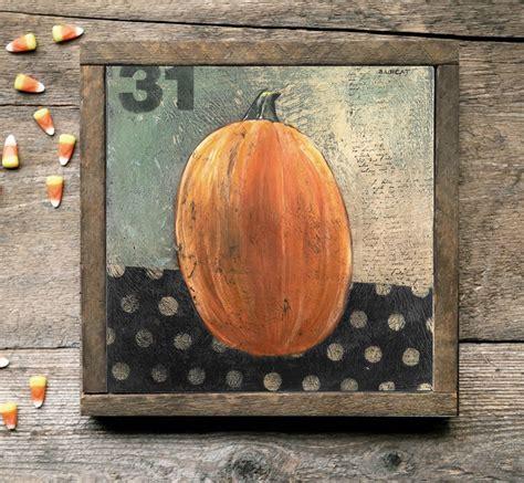 Folk Art Home Decor by Folk Art Pumpkin Artwork Prints Home Decor Gift Ideas