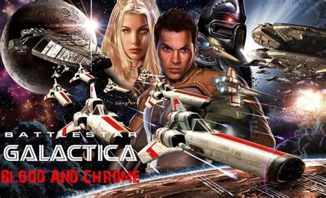 Starbuck Blood Black battlestar galactica blood chrome episodes 5 6