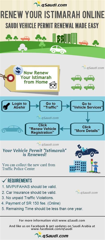 How to Renew Your Istimara online   Saudi Vehicle