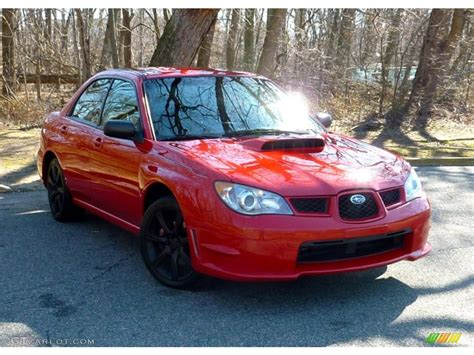 red subaru sedan 2006 san remo red subaru impreza wrx sedan 79126753
