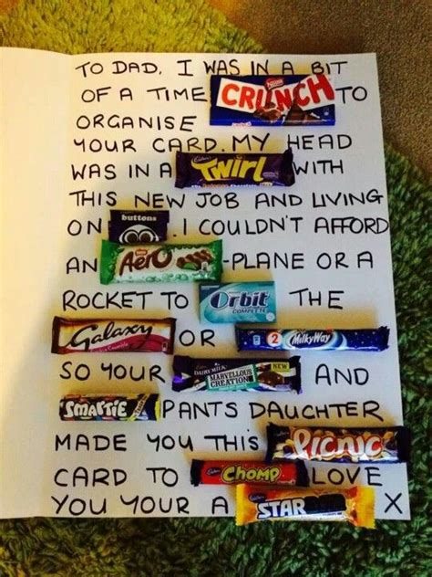 Birthday Cards Made With Chocolate Bars 17 Best Images About Allsorts On Pinterest Halloween