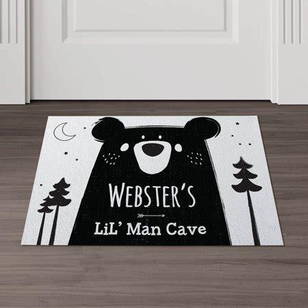 Cave Doormat by Lil Cave Personalized Doormat Walmart