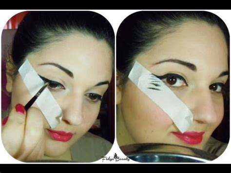 tutorial eyeliner con scotch anche tu puoi essere precisa eyeliner simply youtube
