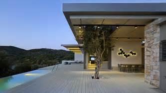 modern home design carolina greek island house frames beautiful sea views freshome com