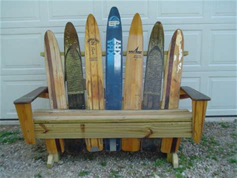 water ski bench custom work gallery