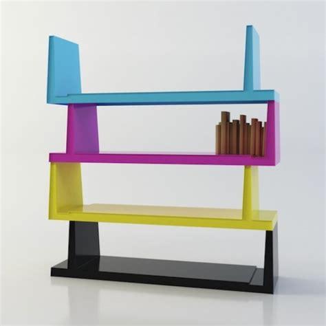 steckbar modern colorful book shelf