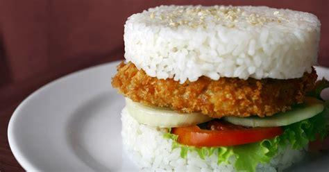 membuat usaha burger peluang bisnis burger nasi usaha makanan unik peluang