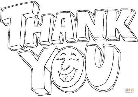 coloring pages for thank you saying thank you coloring page free printable coloring pages