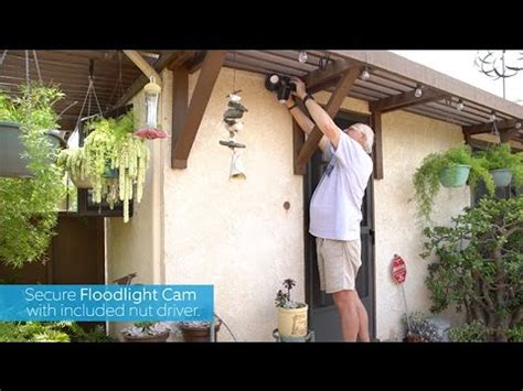 replacing old lights with ring floodlight cam youtube