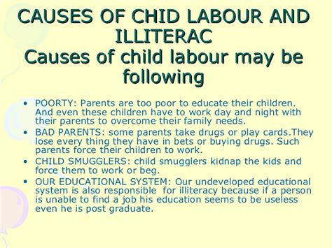 Essay On Child Labour by Essay On Child Labor Report574 Web Fc2