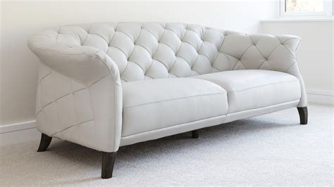 modern 2 seater leather chesterfield sofa uk