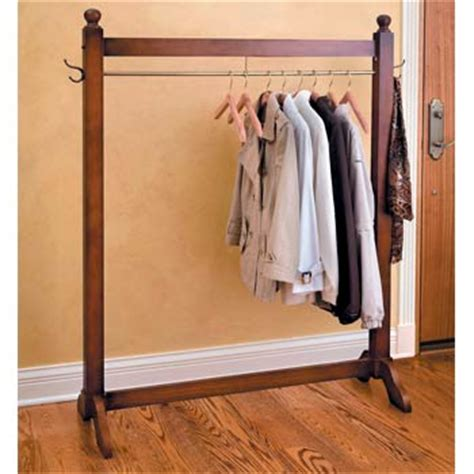 How To Make Garment Rack by Jeri S Organizing Decluttering News No Clothes Closet No Problem