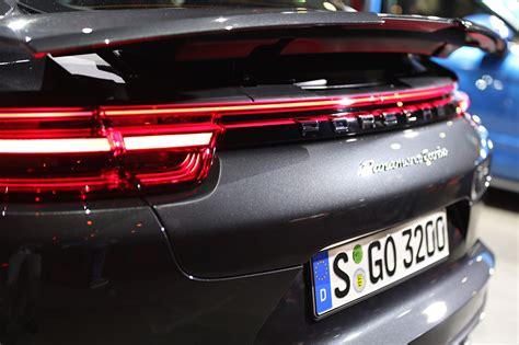 Porsche R Ckleuchten by Der Neue Porsche Panamera 2 Weltpremiere In Berlin