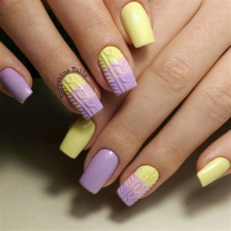 argyle pattern nail art 40 yellow nail art ideas yellow nail art yellow nails