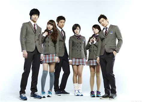 film korea horor dan lucu seragam sekolah di drama korea yang keren dan fashionable